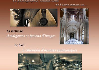 Affiche Galerie Andree LaRoche copie