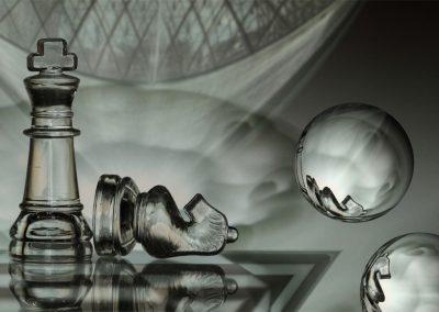 Translucide et fragile pouvoir